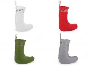 Mikulášská / vánoční bota hvězdy