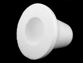 Zvonek 12,5x12,5 cm polystyren 3D