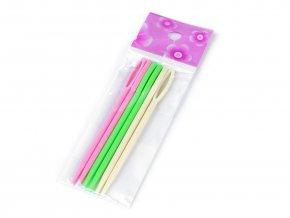Plastové jehly délka 9 cm tupé