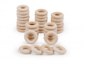 Dřevěný kroužek Ø12 mm