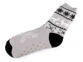 Pánské ponožky zimní s protiskluzem