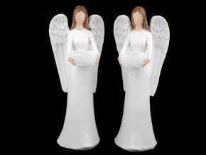 Dekorace anděl na čajovou svíčku