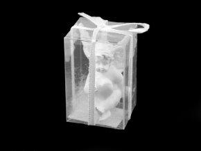 Dekorace anděl v dárkové krabičce