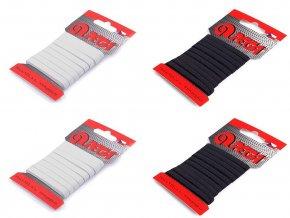 Prádlová pruženka na kartě šíře 5 mm, 7 mm