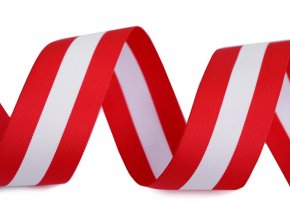 Stuha trikolora Rakousko šíře 20 mm