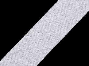 Šikmý proužek bavlněný elastický šíře 30 mm nezažehlený
