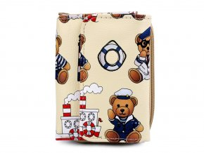 Peněženka medvídek námořník