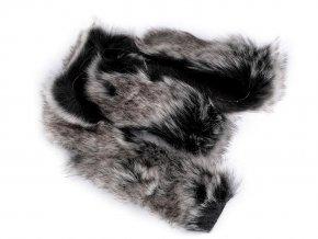 Oděvní / dekorační kožešina šíře 5 cm
