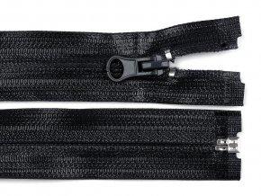 Voděodolný zip šíře 7 mm délka 80 cm spirálový