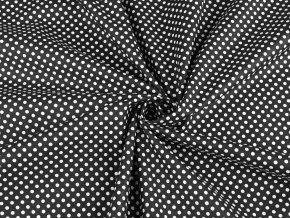 Bavlněná látka puntíky