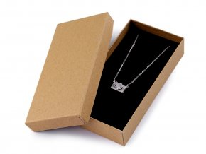Krabička na šperky natural 7x14 cm