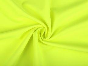 Zimní softshell neon