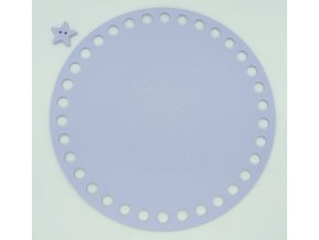 Plastové dno kruh 15cm, lila