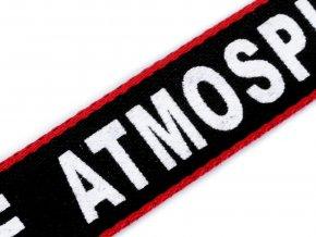 Lampas / oděvní stuha Atmosphere šíře 20 mm