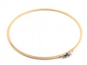 Vyšívací kruh bambusový, velký Ø29 cm