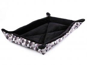 Plyšová podložka / pelíšek pro mazlíčky