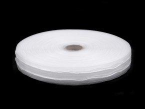 Záclonovka šíře 25 mm 3 sklady