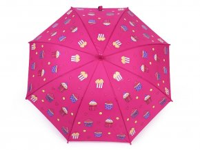 Dětský deštník kouzelný cupcakes, příšerky, auta