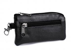 Klíčenka / peněženka malá, kožená 7x13 cm