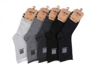 Pánské bavlněné ponožky se zdravotním lemem