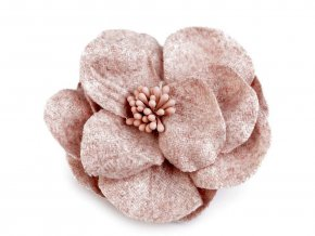 Vlněný květ s pestíky v barvě květu Ø65 mm