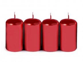 Adventní svíčky 4x7 cm válec