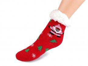 Dětské ponožky zimní s protiskluzem
