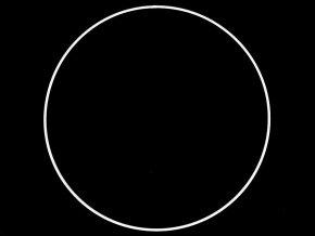 Kovový kruh na lapač snů / k dekorování Ø35 cm