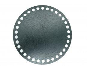 Dřevěný výřez kruh 15cm černý