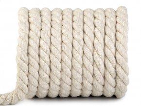 Bavlněná šňůra kroucená Ø15 mm