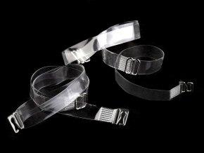 Ramínka silikonová šíře 10 mm s kovovým zapínáním