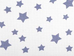 Bavlněná plenkovina / mušelín hvězdy velké