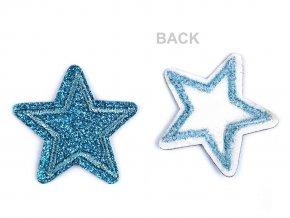 Nažehlovačka hvězda s glitry