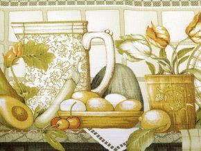 Bavlněné vaflové piké kuchyně
