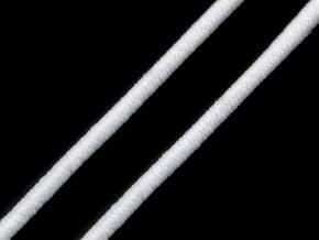 Kulatá guma bílá 2mm