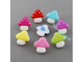 Knoflíky houbičky