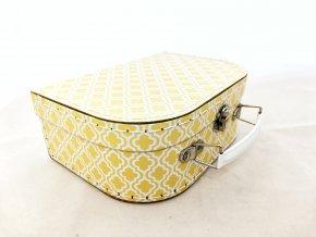 Kufřík žlutý malý