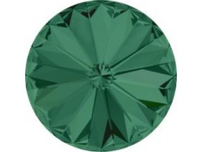 Swarovski Rivoli 1122 12mm Emerald
