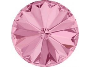Swarovski Rivoli 1122 12mm Light rose