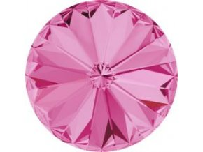 Swarovski Rivoli 1122 12mm Rose