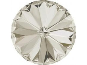 Swarovski Rivoli 1122 14mm Crystal silver shade