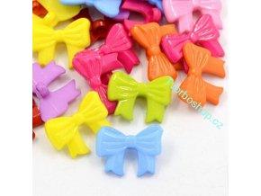 Knoflíky plastové mašličky