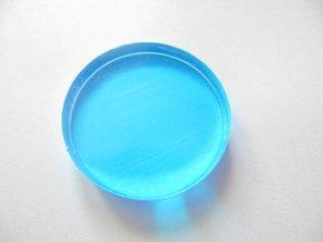 Akrylový blok na razítkování kulatý 5,5 cm