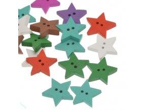 Knoflíky hvězdy
