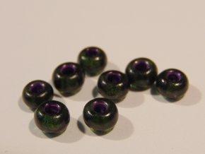 Tmavě zelená s fialovým průtahem 224