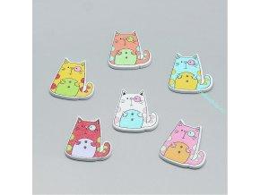 Knoflíky kočky3