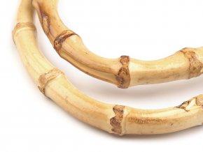 Bambusová ucha na tašky 12,5x17 cm