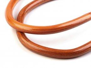 Bambusová ucha na tašky 14x17,5 cm