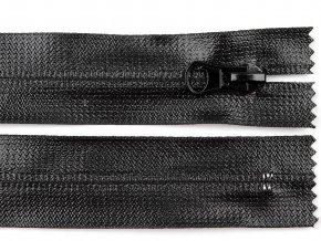 Voděodolný zip šíře 7 mm délka 18 cm spirálový