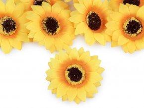 Umělý květ slunečnice Ø70 mm